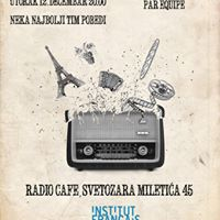 Francusko-srpski kafe kviz  Caf Quiz franco-serbe