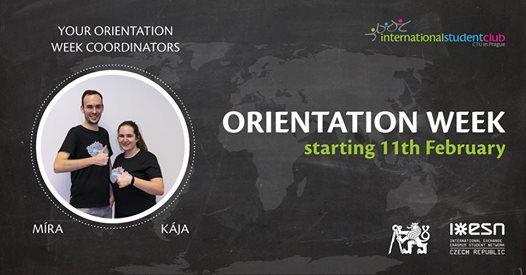 ISC Orientation Week Spring 2019