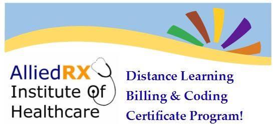 Online Billing & Coding Certificate Program at AlliedRx Institute of ...