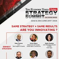 Sales Strategy Summit - The Economic Times