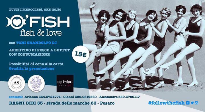 Fish love on the beach bagni bibi pesaro at bagni bibi pesaro