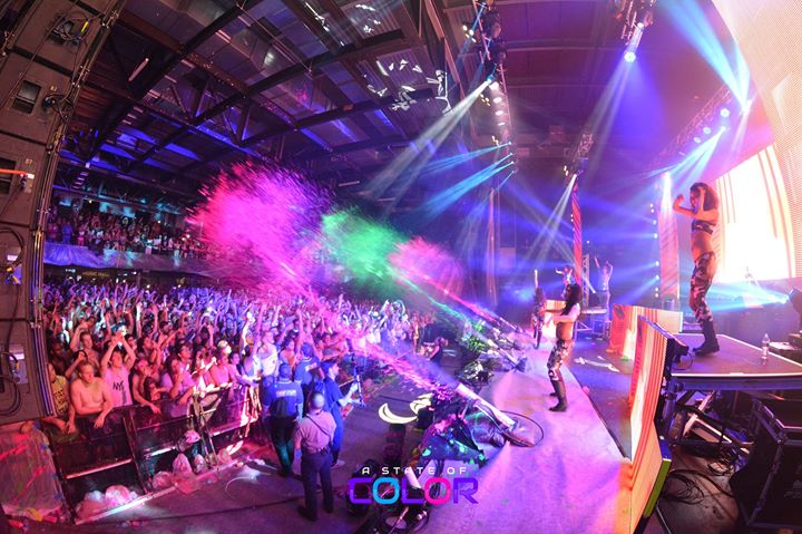 Tonight a state of color neon riot san antonio for San antonio christmas craft show freeman coliseum