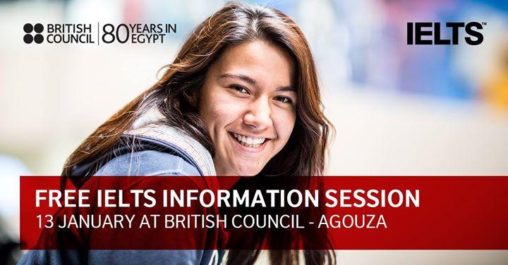 Free IELTS Information Session - Agouza
