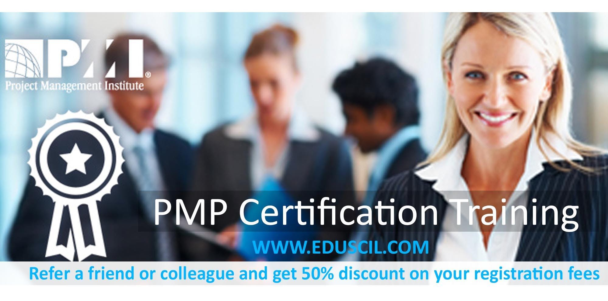 PMP Classroom Training in Baltimore MD-USA  Eduscil