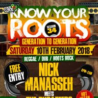 Know Your Roots 34 Free ENTRY Manasseh MEETS Dubateers