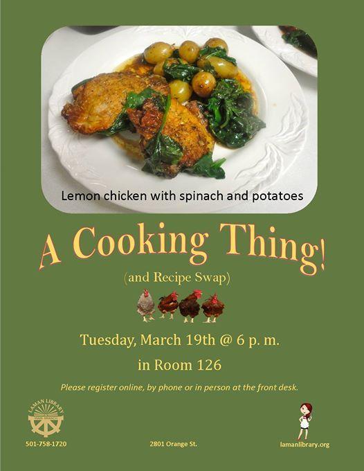 A Cooking Thing & Recipe Club Lemon Chicken