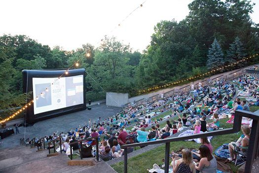 The National Bank of Indianapolis Summer Nights Film Series
