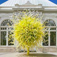 New York Botanical Gardens Chihuly Exhibit
