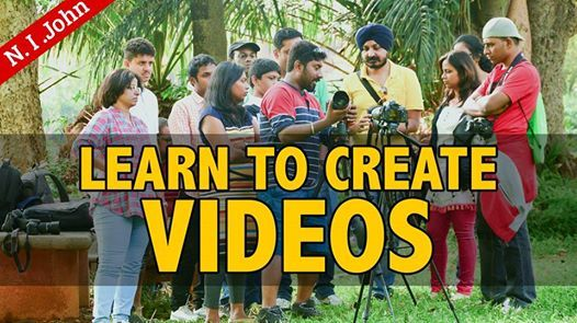 Free YouTubers Workshop in Bangalore on 8th Dec 2018