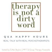 Therapy Is Not A Dirty Word