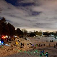 2nd Annual Glow in the Dark Sledding Party