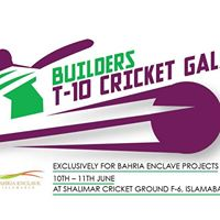 Builders T-10 Family Cricket Gala 2017
