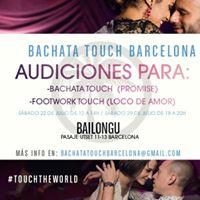 Audiciones Touch Barcelona