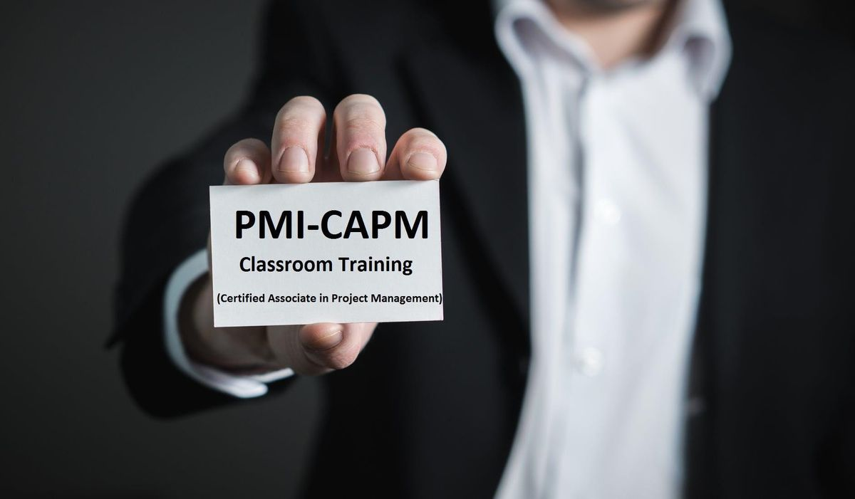 Certified Associate In Project Management Capm In Sacramento Ca