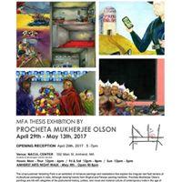 The Unaccustomed Vanishing Point MFA Thesis Exhibition