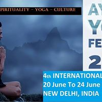 International AYUSH YOGA Festival