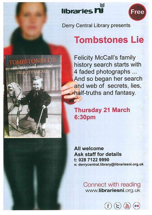 Tombstones Lie Book Launch