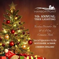 Harbor Point 7th Annual Tree Lighting