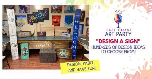Art Party 0222 Design a Sign