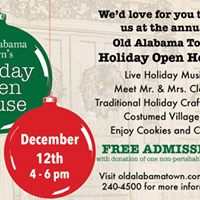 Old Alabama Towns Holiday Open House