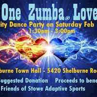 One Zumba Love - Charity Dance Party