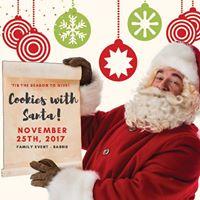 Cookies With Santa At White Cedar Dental - Barrie