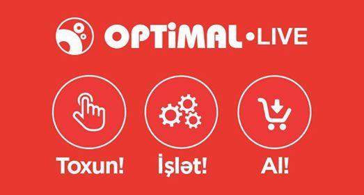 Optimal Live-da promoda itirak et Endirim kuponu qazan
