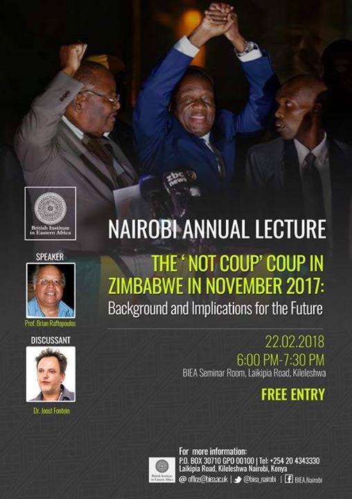 Nairobi Annual Lecture 2018