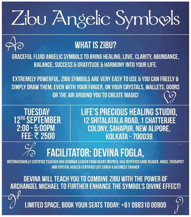 Zibu Angelic Symbols Workshop By Devina Fogla Calcutta