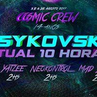 Excurso Saindo de sorocaba Cosmic Crew 14 anos Psykovsky 10hs