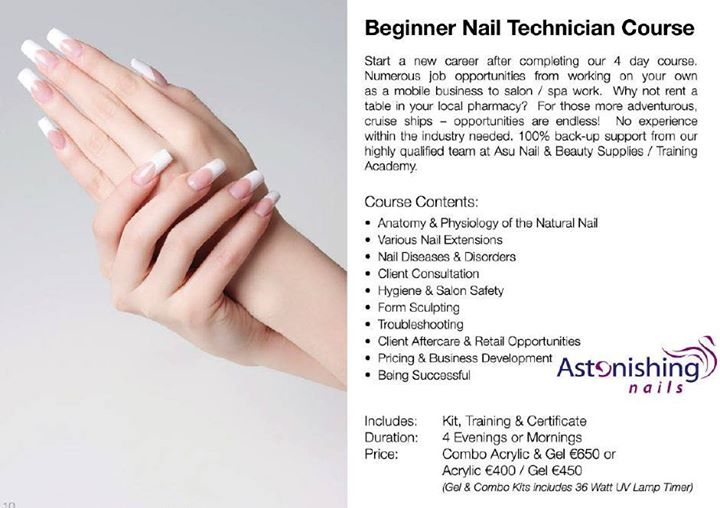 Gel Beginner Nail Tech Course at Asu Nail & Beauty Supplies ...
