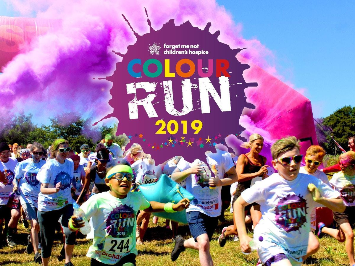Forget Me Not Colour Run 2019