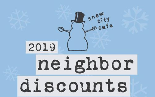 Neighbor Discount Week - L92 Building 1007 W. 3rd Ave.