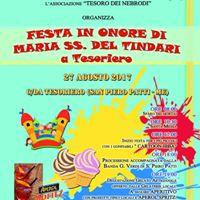 Festa in onore di Maria SS del Tindari a Tesoriero