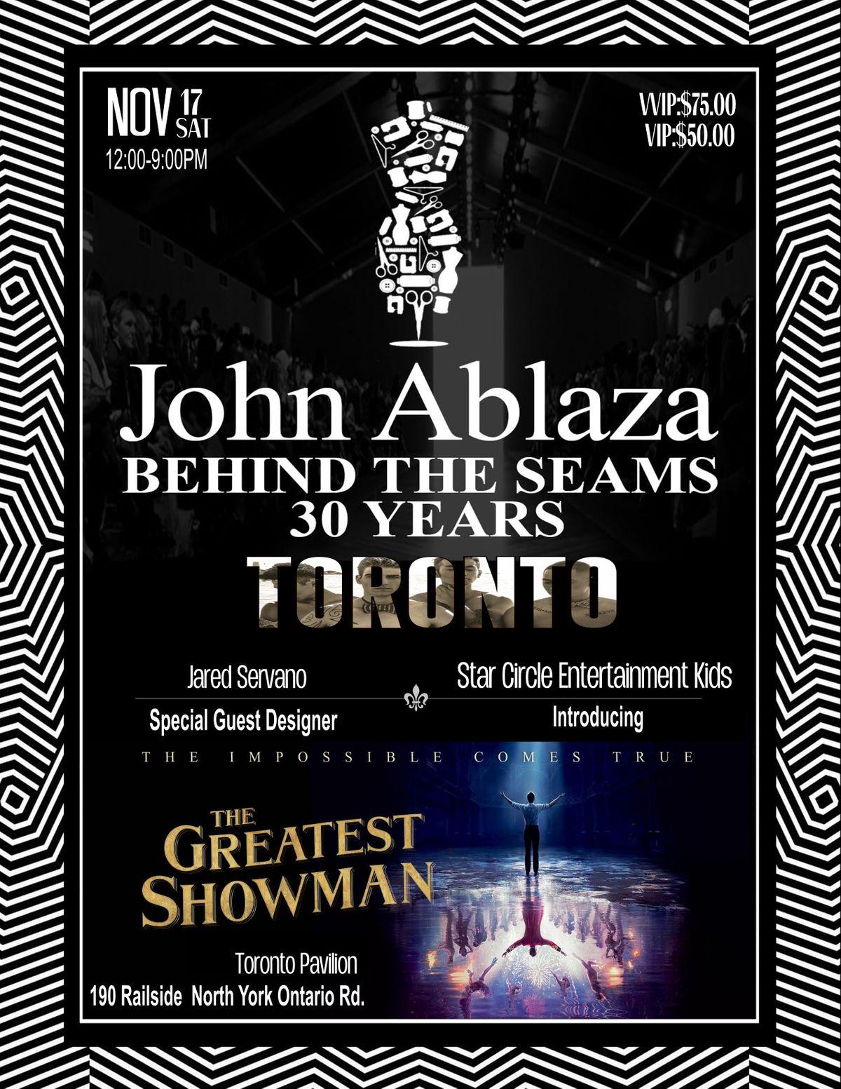 John Ablazas Behind the Seams Fashionshow