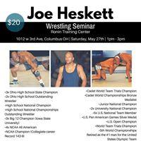 Joe Heskett Wrestling Seminar