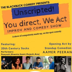 You Direct We Act The Improv Comedy Show