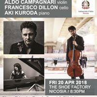 Concert Aldo Campagnari Francesco Dillon &amp Aki Kuroda