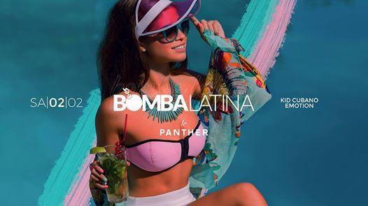 Bomba Latina  Sa  02.02.  Le Panther Frankfurt