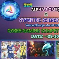 Alpha 2 Omega &amp Symmetric BAFSK Science Club Cyber Gaming Competition