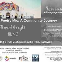 Open Poetry Mic A Community Journey