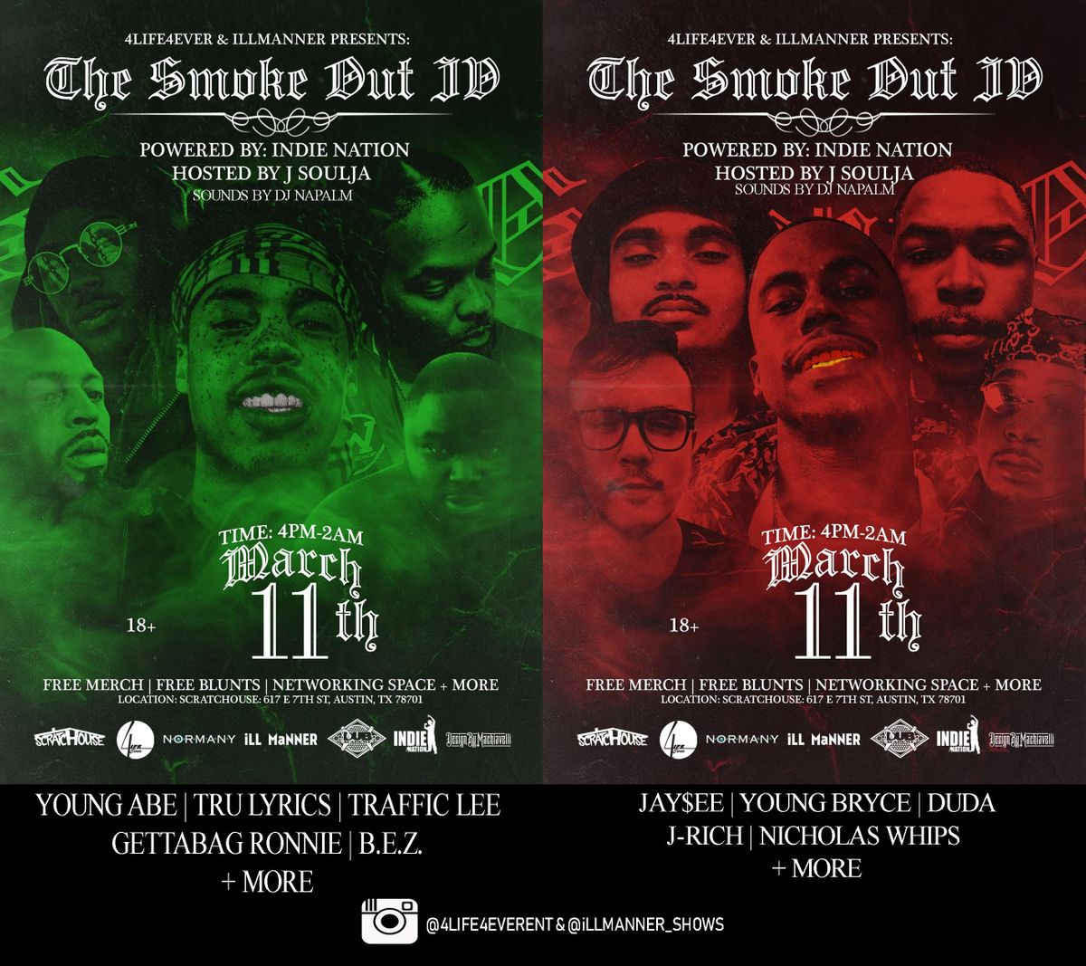 THE SMOKE OUT IV  SXSW EDITION