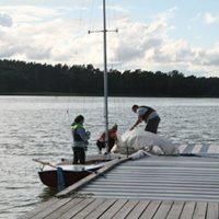 Wdrwki eglarskie - Jeziorak 2018