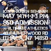Josh Hayden NOGI Seminar