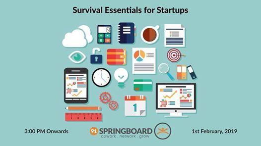 Survival Essentials for Startups