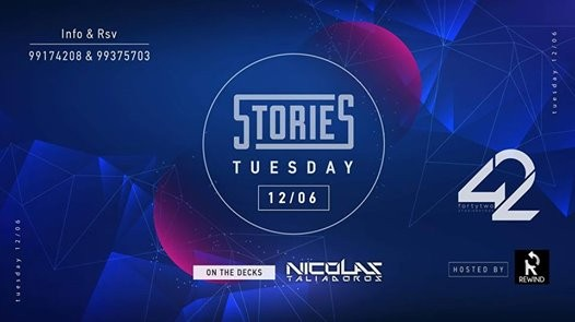 Stories Tuesdays