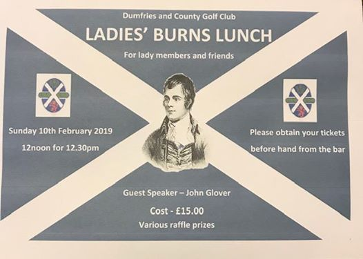 Ladies Burns Lunch