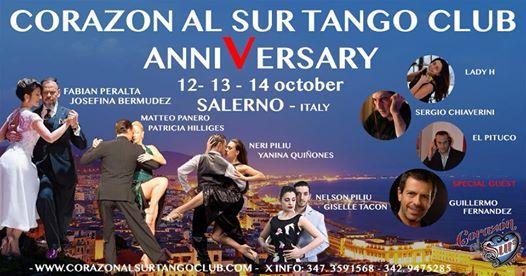V academy anniversary corazon al sur tango club salerno