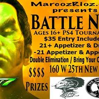 MarcozRioz.com presents Battle NYC Tekken7PS4