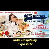 India Hospitality  F &amp B Pro Expo
